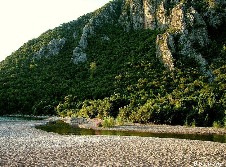 Olimpos sahili. Fotoğraf- (Barış Künar)